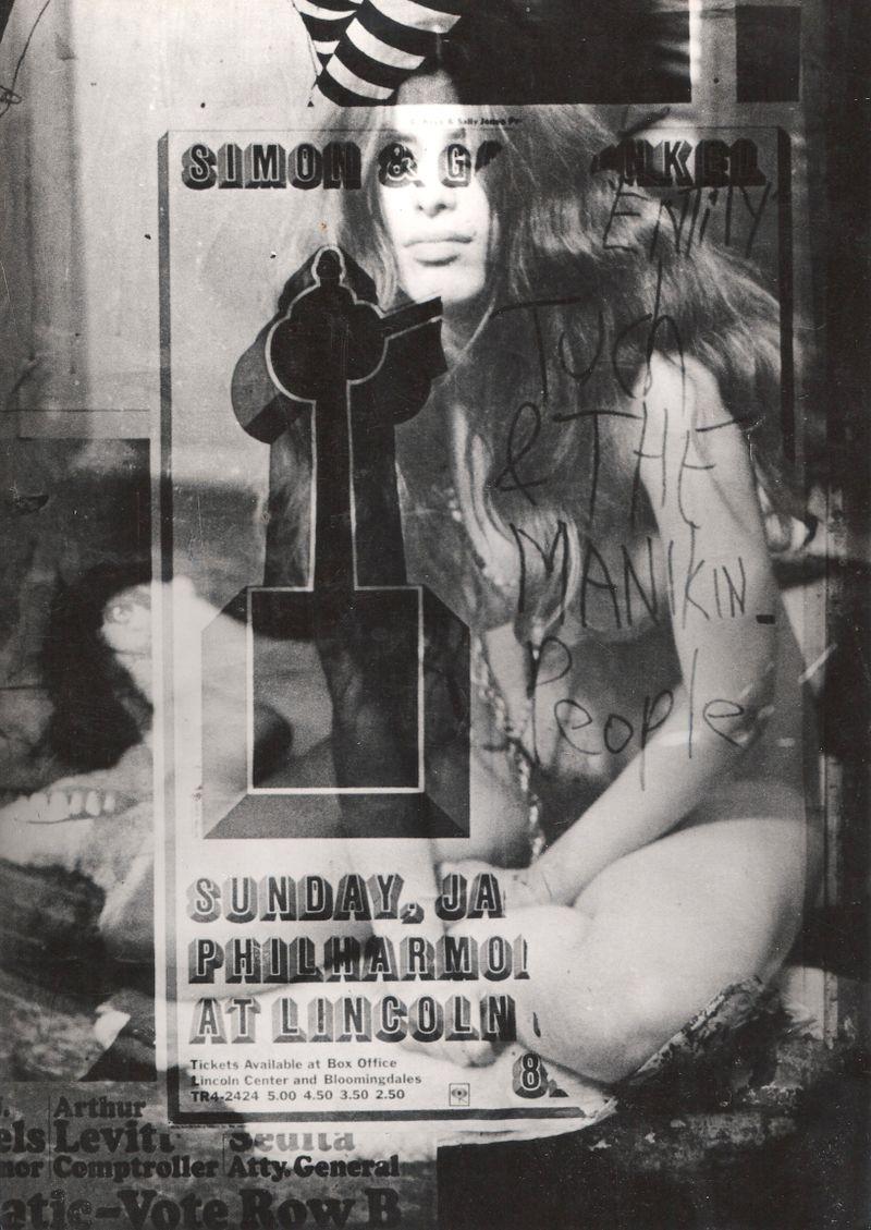 Goddess emerging, NYC 1969