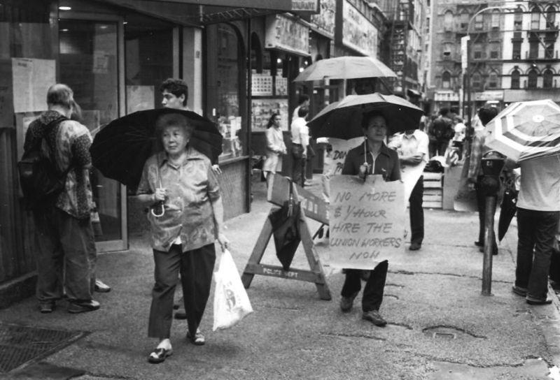 Chinatown pickets