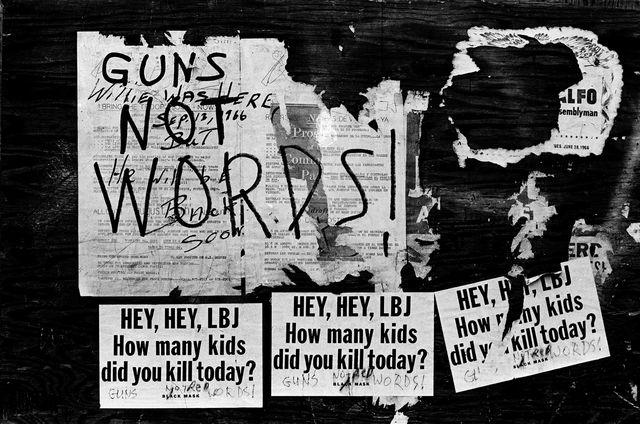 Guns Not Words