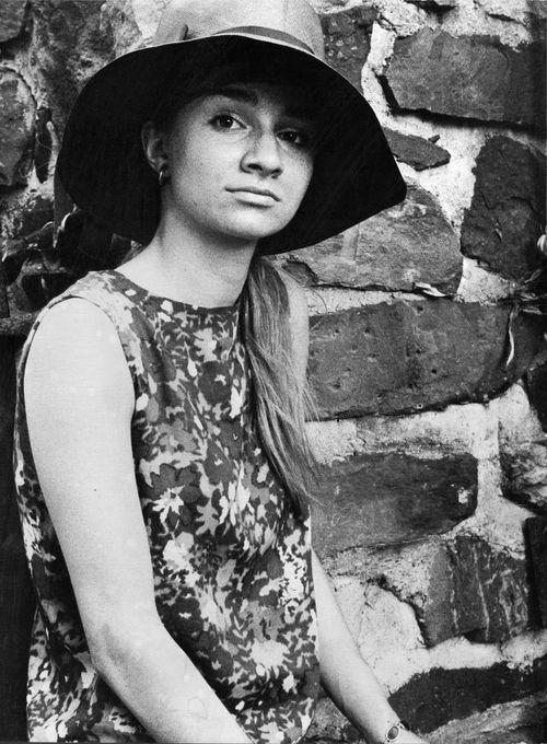 Adrienne at New Hope, 1967