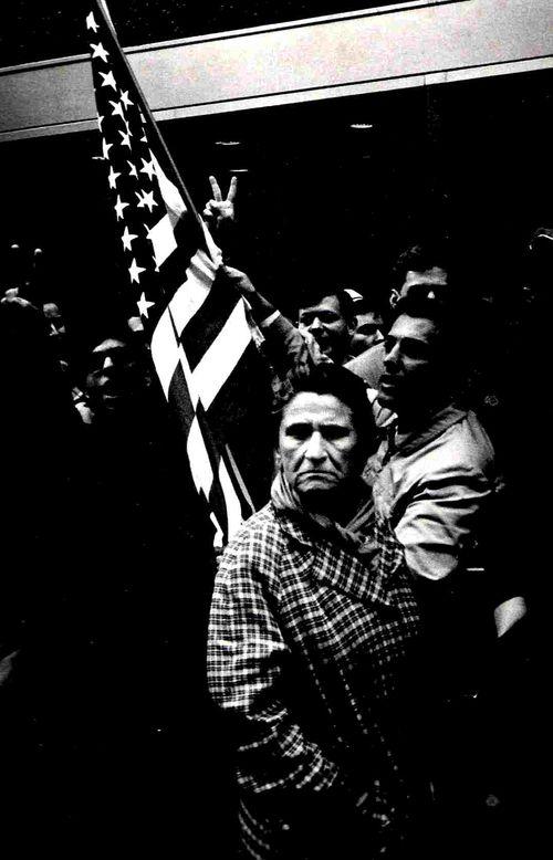 Pro-War Demonstrators, NYC 1967